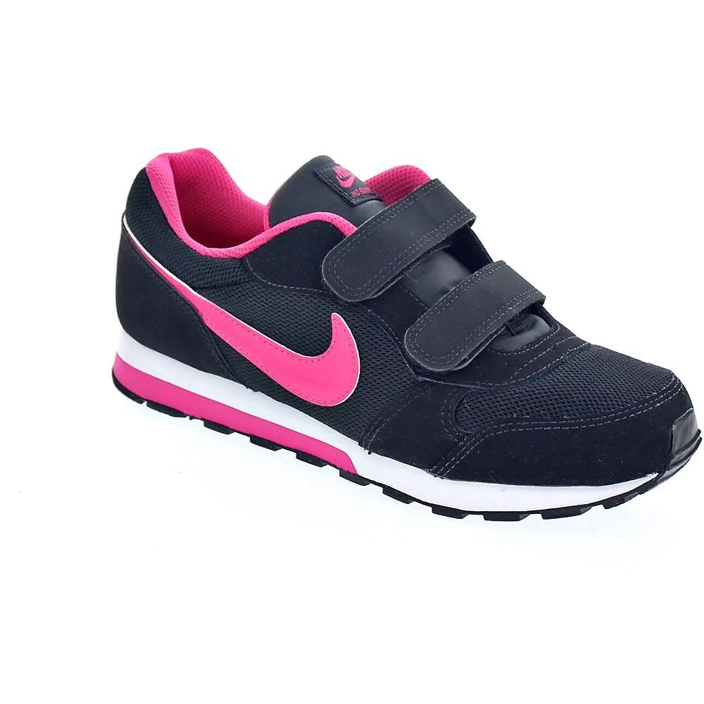 bdca2c9588eba Nike-Md-Runner-2-Zapatillas-Nina-Negro-36852 miniatura