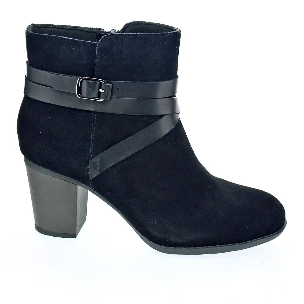 Clarks Botines Enfield Coco  Botines Clarks  Mujer  Negro 8d2722