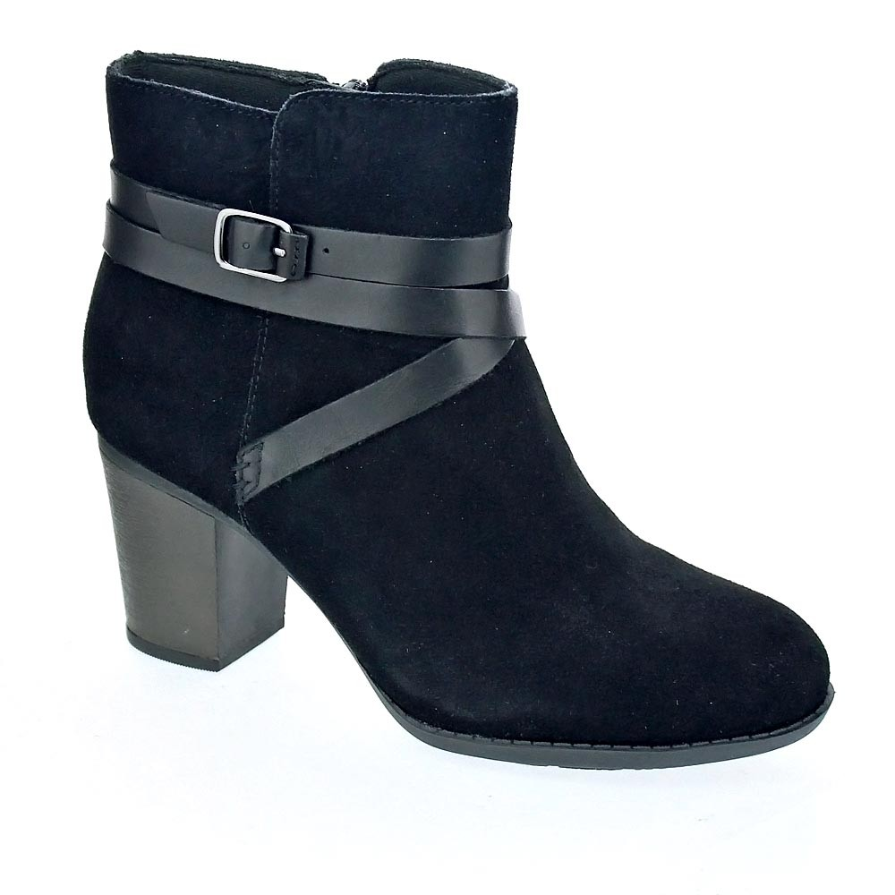 Coco Enfield Clarks Botines Negro Mujer BHZxqwP