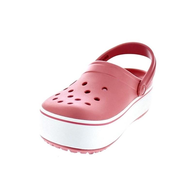 Crocband Zuecos Rosa Platform 205434 ¡entrega Crocs Clog Mujer 6ph ZOdnwBx