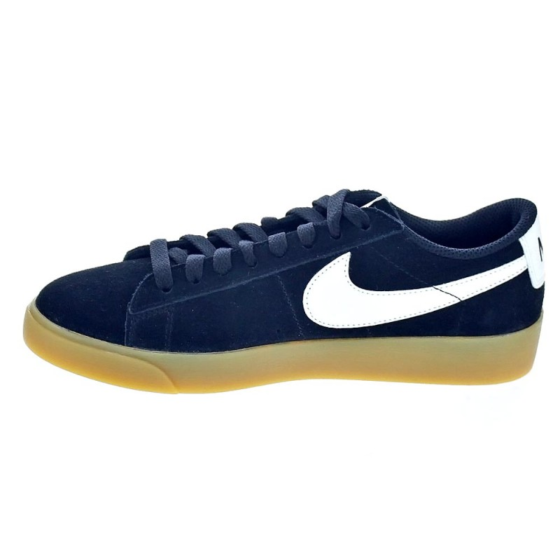 huge discount 9ba08 4083a Nike Blazer Low Negro AV9373 007 Zapatillas bajas Mujer - ¡Entrega ...