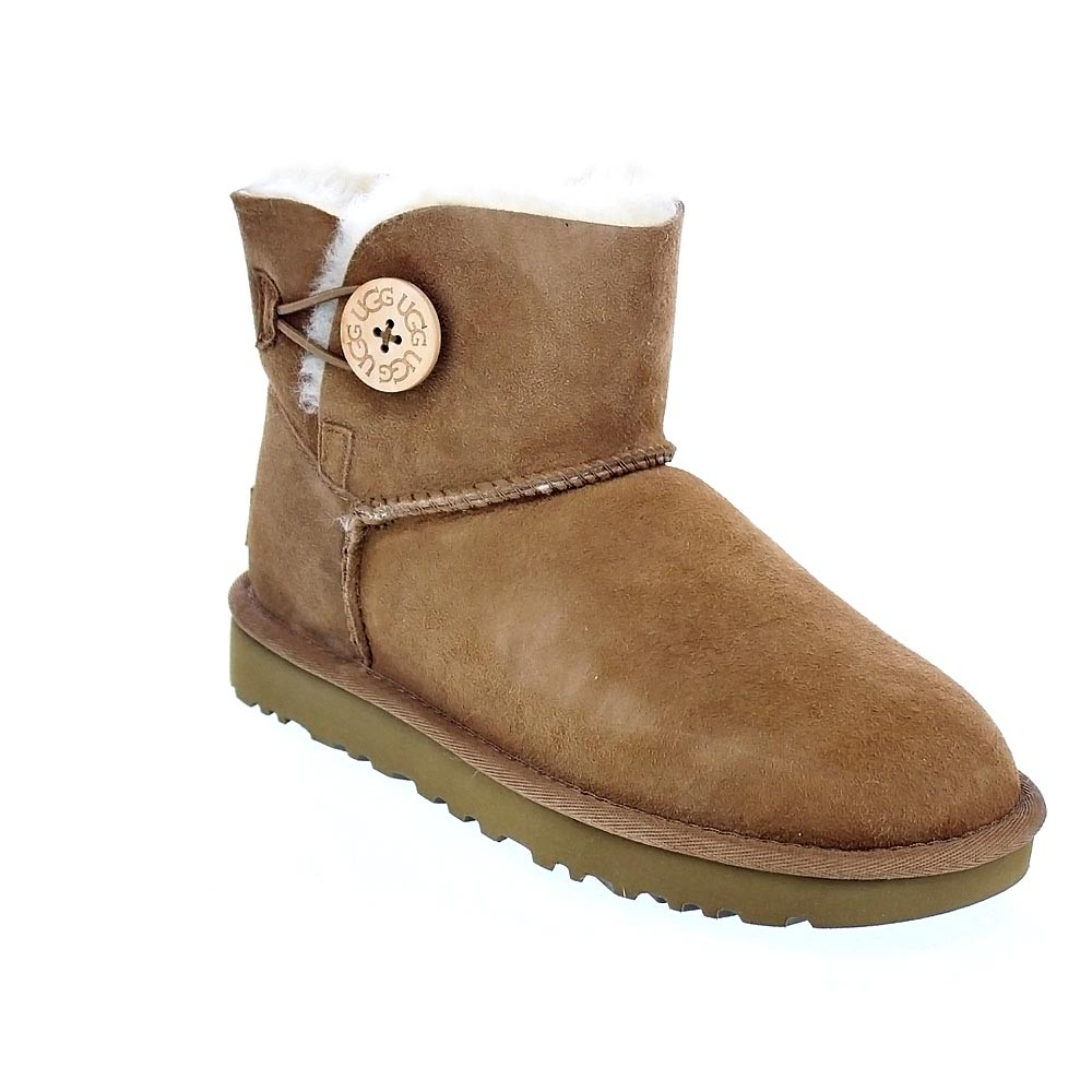 Botines Bailey Ugg 37413 Mini Button Marrón Ii Mujer Iwxq1F