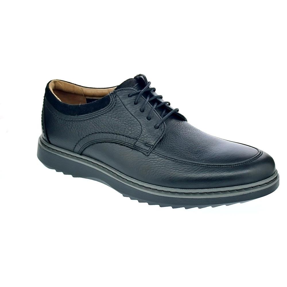 229995bd Clarks Un Geo Lo Blk Zapatos con cordón Hombre Negro 37666