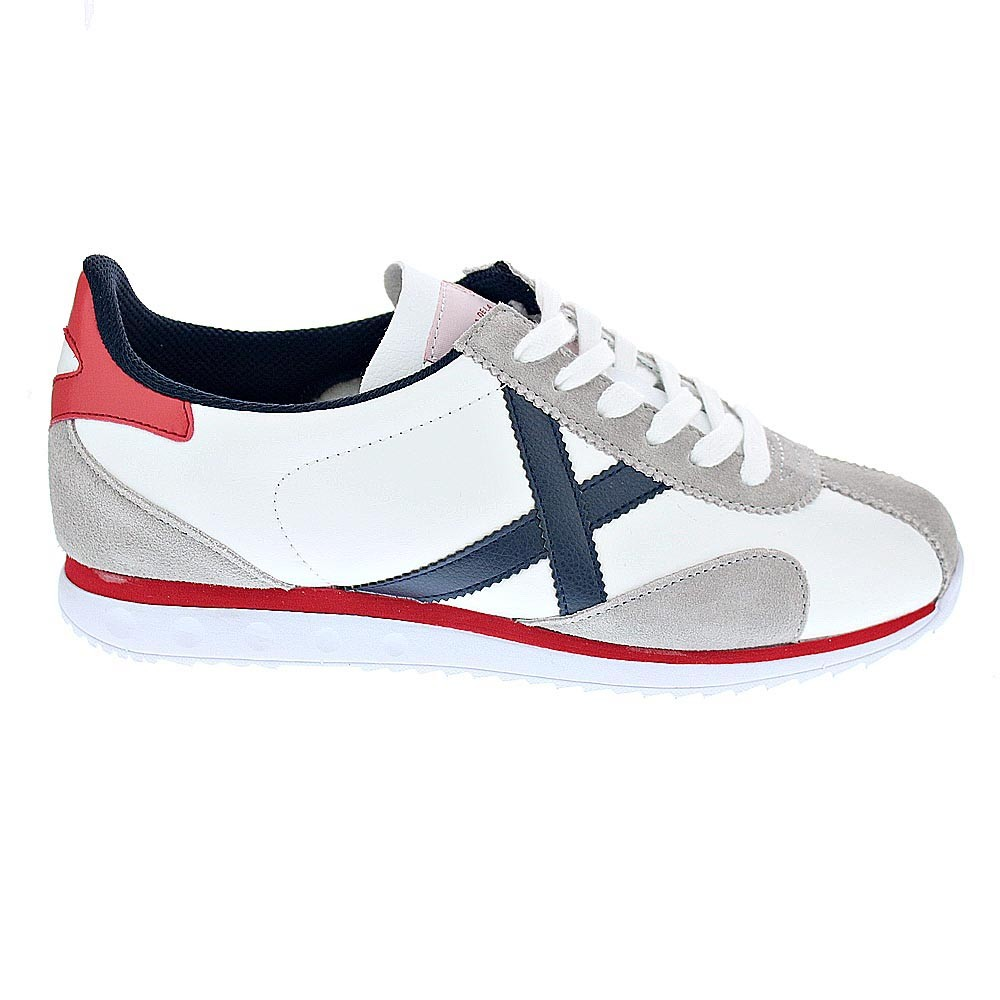 Homme Basse Chaussure Blanc 01 37738 Sapporo Munich 8BHqT1