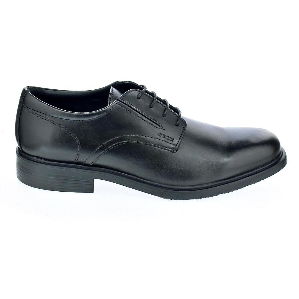 Geox Dublin Cordón Zapatos Negro Con Hombre 37851 11xZwCqrg6
