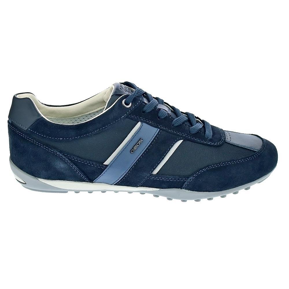e080223dba9 Geox-Wells-Zapatillas-bajas-Hombre-Azul-37850 miniatura 6