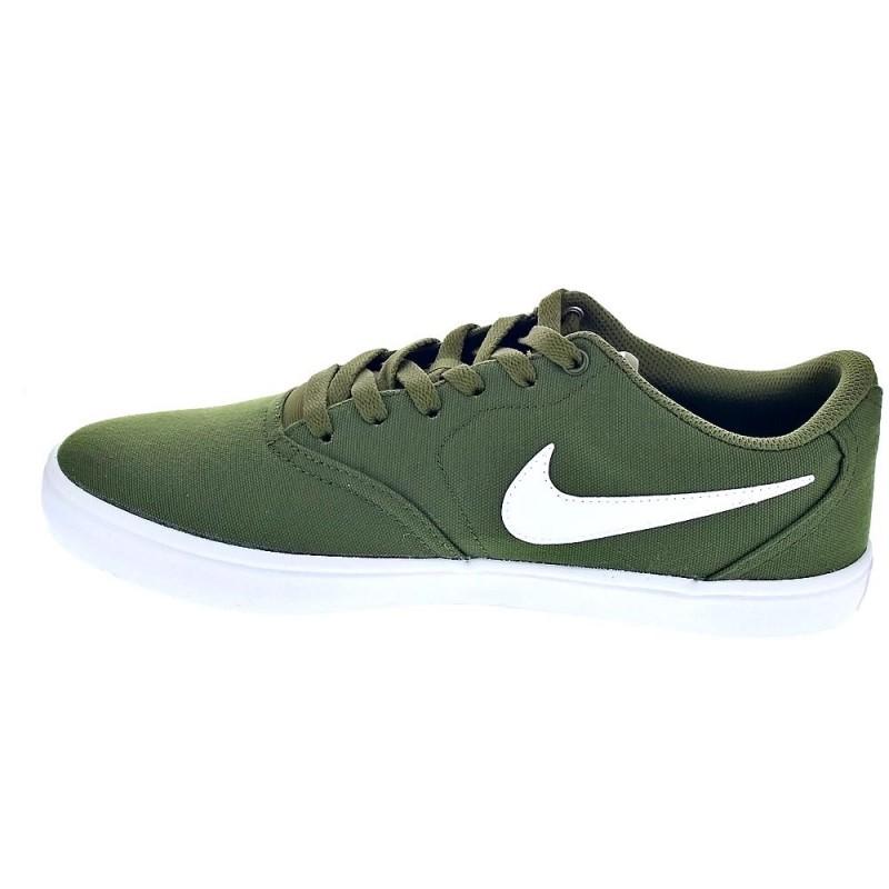 be97d276d75dd Nike Sb Check Solar Cnvs Verde 843896 311 Zapatillas bajas Hombre ...