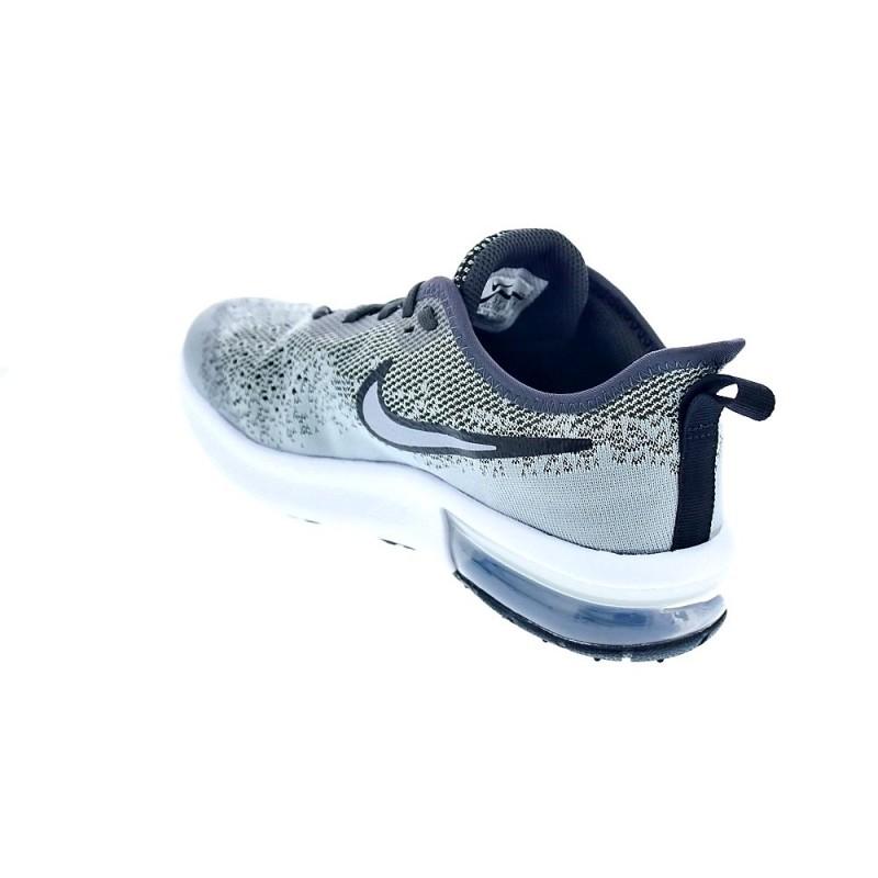 premium selection 84881 3ae0f Nike Air Max Sequent 4 Gris AQ2244 003 Zapatillas Niño - ¡Entrega ...