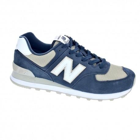 new balance 574 hombre azul
