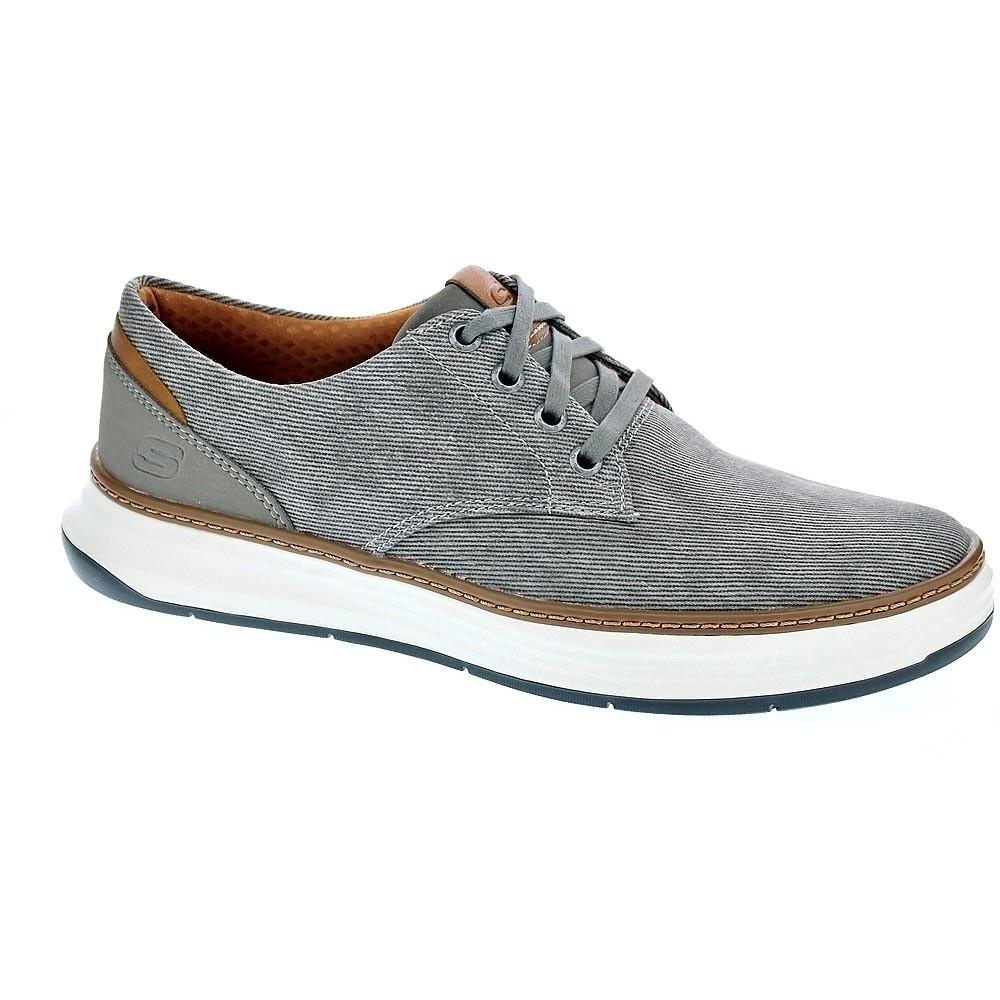 Skechers-Moreno-Ederson-Zapatillas-bajas-Hombre-Gris-38811 miniatura 6