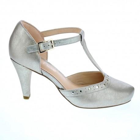 ligado Electricista puño  Clarks Dalia Leah Oro CHAMPAGNE Zapatos tacón Mujer - ¡Entrega 24h gratis!