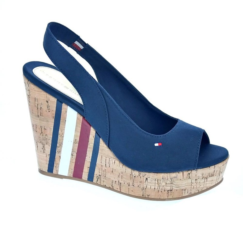 Sling Back Wedge Sandal