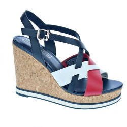 Tommy Hilfiger Interwoven Pattern Wedge