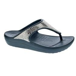 Crocs Sloane Metal Txt Flip