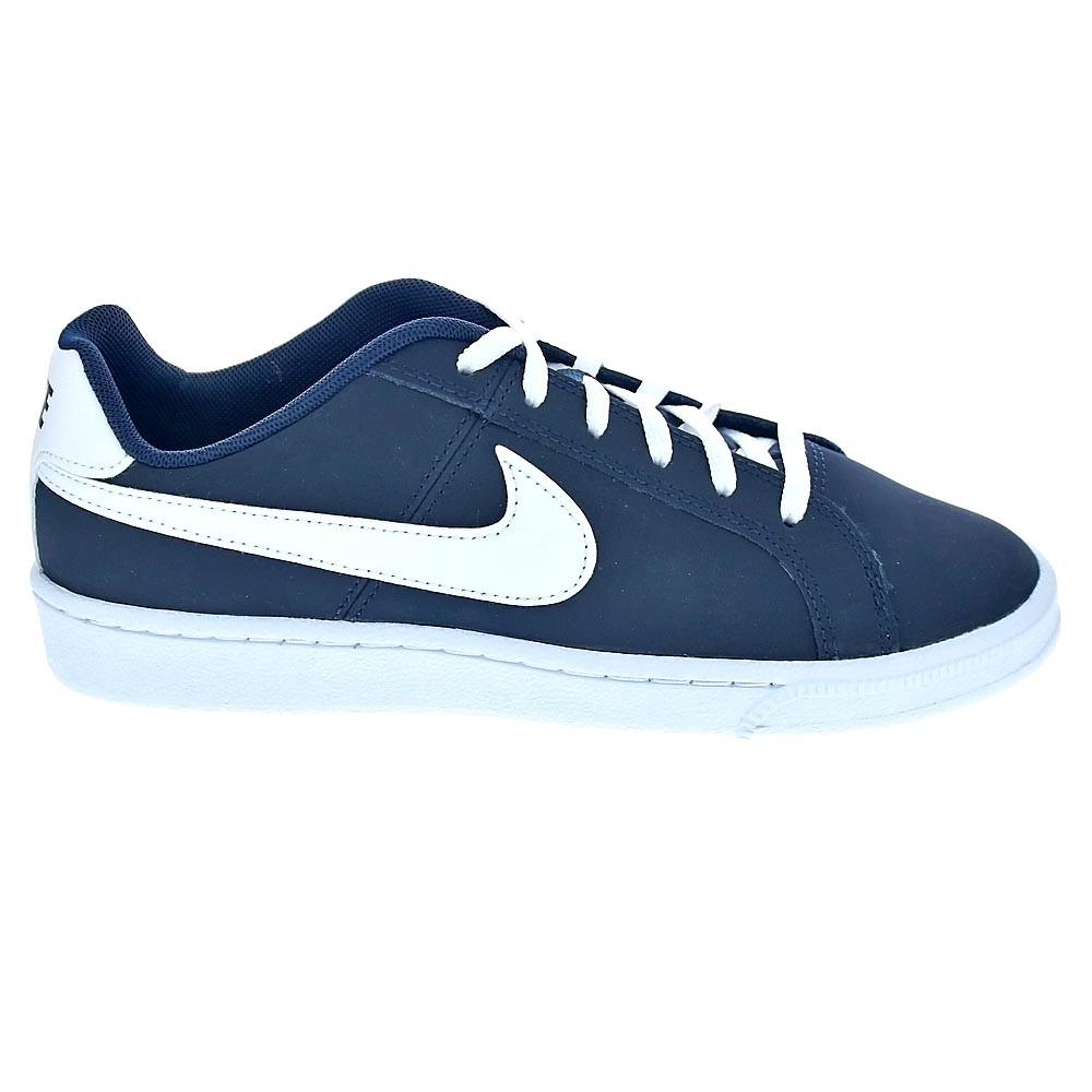 Detalles de Nike Court Royale Zapatillas Niño Azul 40222