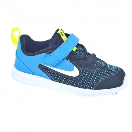 novela Tableta principal  Nike Downshifter 9 Azul NEGRO AZUL Zapatillas Niño - ¡Entrega 24h gratis!