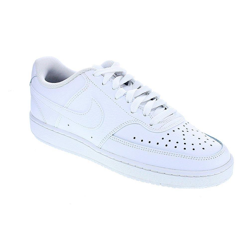 Detalles de Nike Court Vision Zapatillas bajas Hombre Blanco 42882