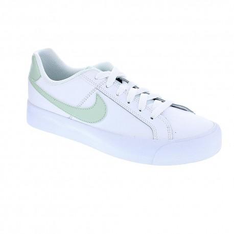 nike court royale blanco verde