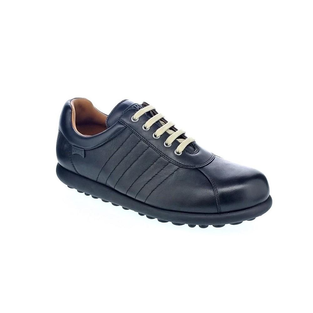 Negro Con Detalles Camper Pelotas Cordón Hombre De Zapatos 6gw0x