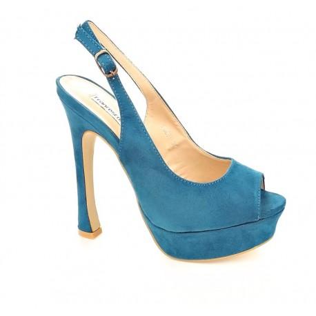 manual empieza la acción Recreación  Francesco Milano F087tss013 Azul Zapatos tacón Mujer (19395) ¡Entrega 24h  gratis!