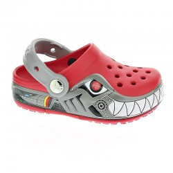 Crocs CrocsLights Robo Shark Clog Ps