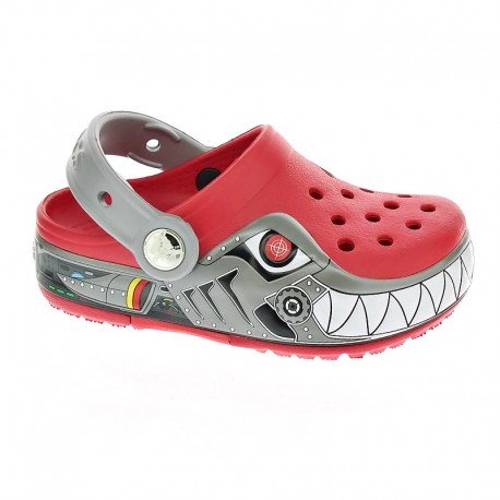 CrocsLights Robo Shark Clog Ps